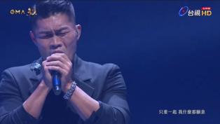 金曲/李玖哲台上激動淚崩! 唱到一半「聽到日語」想老婆了