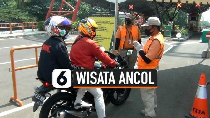 VIDEO: Tidak Memilik KTP DKI Jakarta Pengunjung Ancol Putar Balik