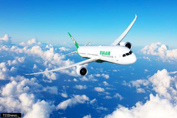 長榮航空超前部署「類出國專案航班2.0」,除有超人氣Hello Kitty彩繪機外,航空迷青睞的787-10夢幻客機將首度加入「類出國」行列。(圖:長榮航空提供)