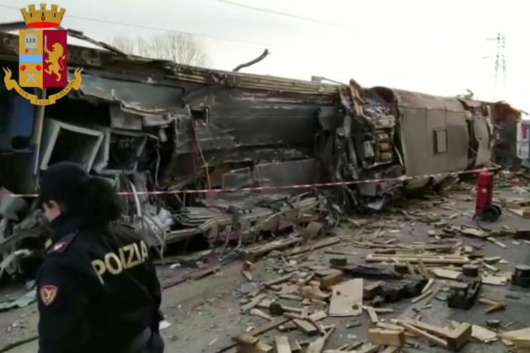The Milan-Salerno train was en route to Bologna when it came off the tracks