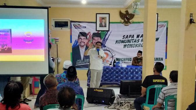 Relawan SAH Banting Setir Dukung Machfud-Mujiaman di Pilkada Surabaya