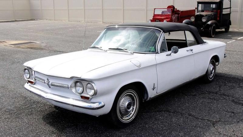 Budget 1962 Chevy Corvair Convertible Seeks Mechanic