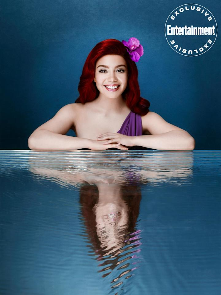 "Flipping her fins, who knows how far she'll go? <a href=""https://ew.com/tag/aulii-cravalho/"">Auli'i Cravalho</a>, the powerful voice behind <a href=""https://ew.com/creative-work/moana/""><em>Moana</em></a>, takes on a new Disney princess as Ariel."