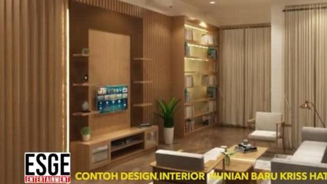 Rumah Kriss Hatta. (Youtube ESGE Entertainment via Merdeka.com)