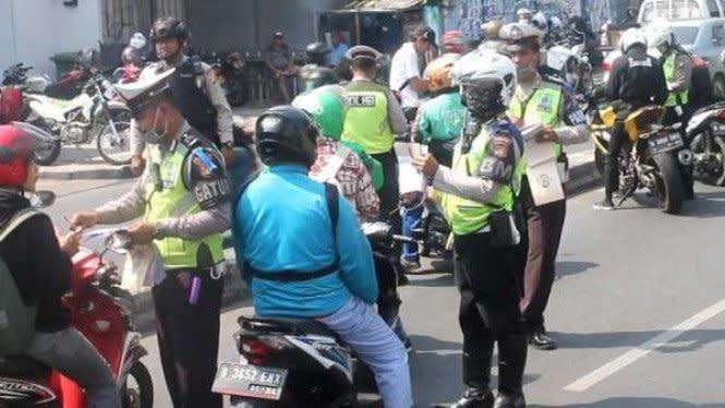2 Pekan Razia Operasi Patuh Jaya 2020, 34.152 Pengendara Kena Tilang