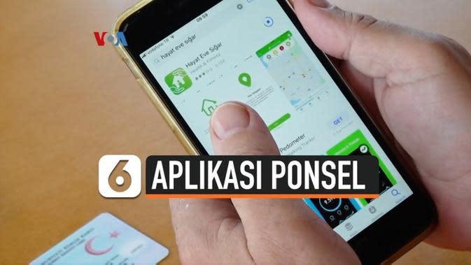 VIDEO: Aplikasi Ponsel Bantu Bendung Sebaran Covid-19