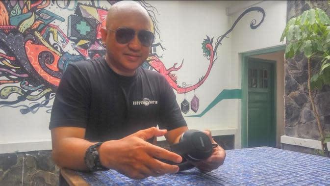 DJ Stroo (Foto: Switzy Sabandar)