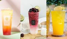 【COSMO美食爆吃】7月新品搶先看!署茗職茶@AtTea「芒芒秘露」、大苑子「櫻桃朵朵」、摩斯漢堡「芒果氣泡飲」