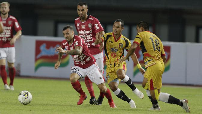 Paulo Sergio kemudian melanjutkan petualangannya di Indonesia dengan bergabung bersama Bali United pada Desember 2018. (Bola.com/M Iqbal Ichsan)
