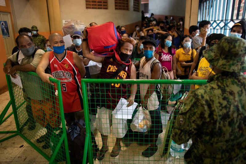 Philippines to reimpose stricter coronavirus lockdown in capital as cases spike