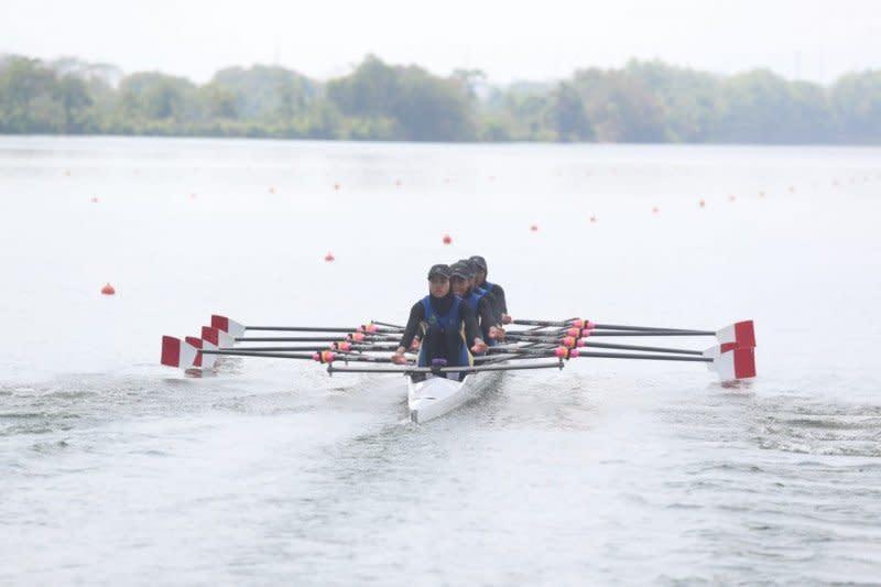 Jabar, Jambi, dan Sulteng berbagi emas di dayung rowing Popnas