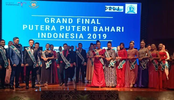 Malam Grand Final Pemilihan Putra-Putri Bahari Indonesia 2019
