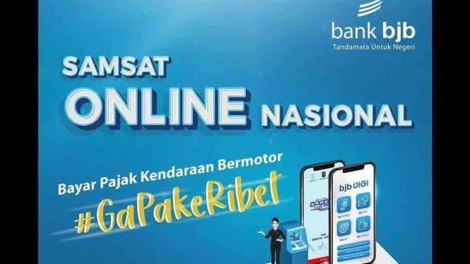 Inovasi untuk Negeri, bank bjb Sukseskan Samsat Online Nasional
