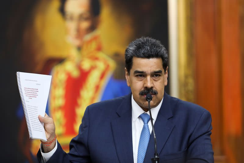 Venezuelan's Maduro calls his decision allowing dollar transactions 'correct'