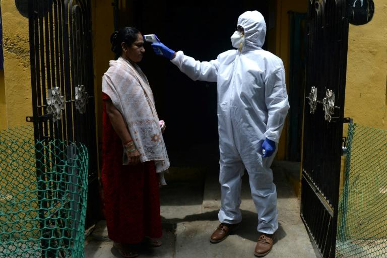 Health experts say the world must urgently help nations battling the virus