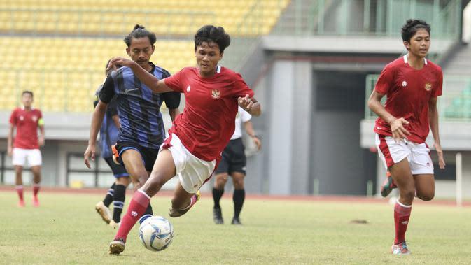 Pelatih Bima Sakti menyebut, pemain Timnas Indonesia U-16 sudah menunjukkan penampilan yang sesuai keinginannya. (dok. PSSI)