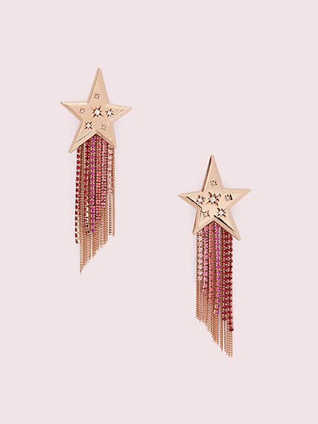 Star of the Show Fringe Earrings