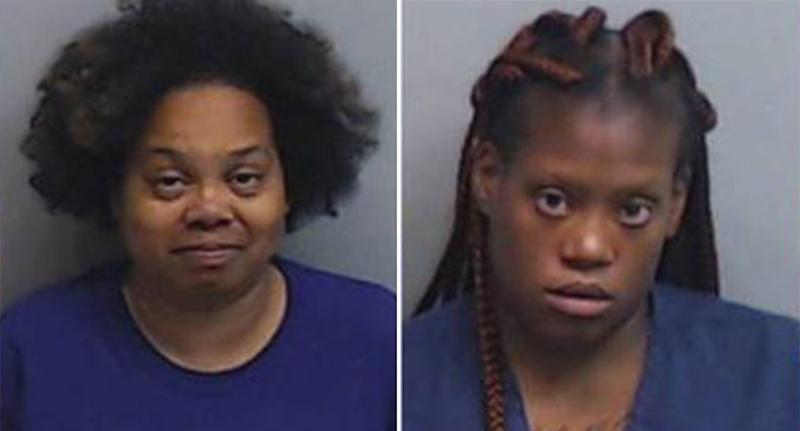 Four Atlanta women charged after a boy was left in a hot van at a child care centre.