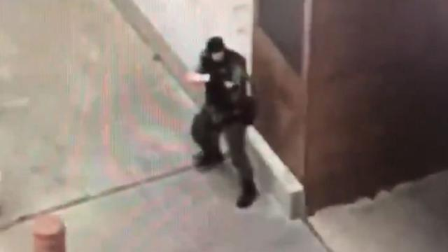 Dallas Federal Courthouse security engage Active Shooter-killing him