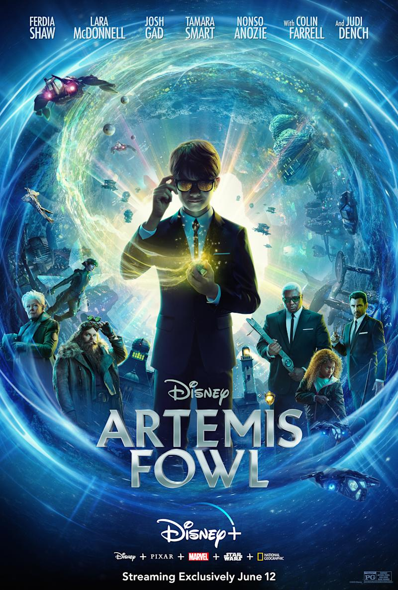 The final poster art for Artemis Fowl. (Disney)