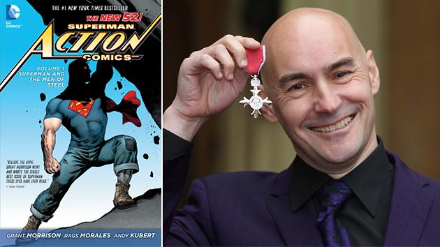 Comic Book Legend Grant Morrison Talks New Wonder Woman, 'Multiversity' & 'Man of Steel'