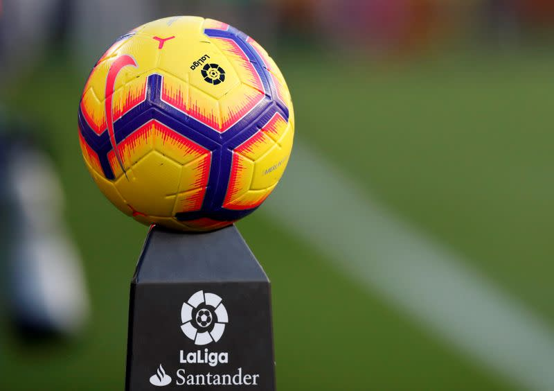 La Liga chief confirms clubs will resume group training from Monday