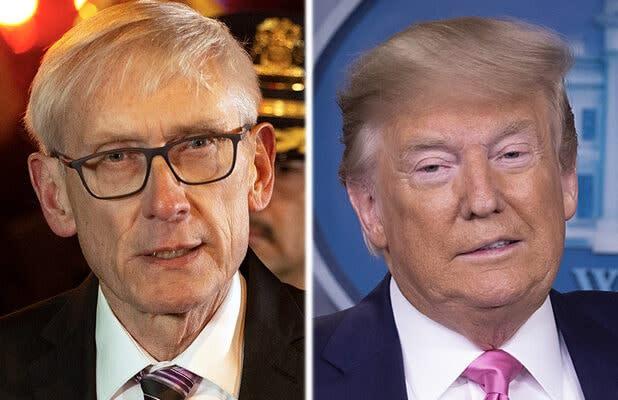 Wisconsin Governor Urges Trump to 'Reconsider' Kenosha Visit