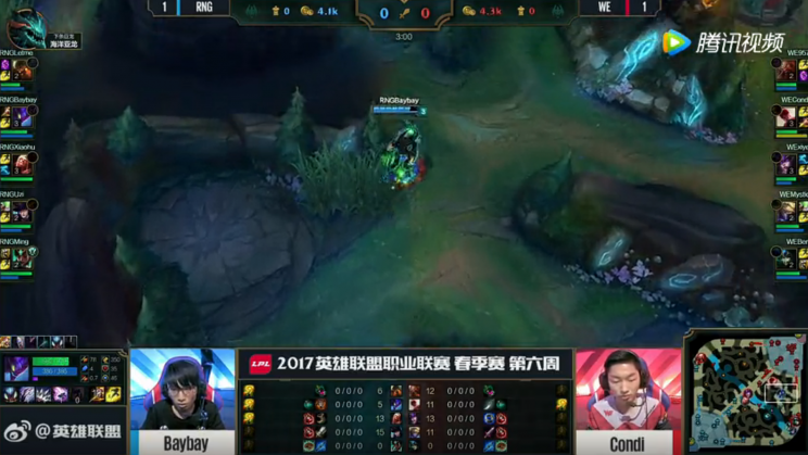BayBay unable to counterjungle after Condi starts raptors and clears his blue buff jungle (lolesports)