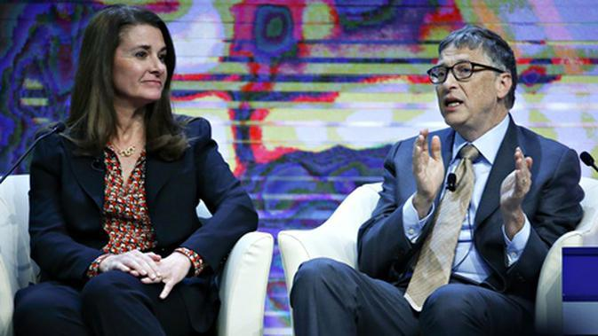 Pendiri Bill & Melinda Gates Foundation.