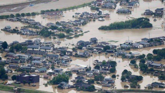 Banjir Besar Rendam Jepang, Grafik Jumlah Korban Tewas Naik Pesat