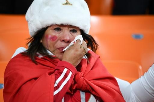 A long and expensive odyssey and all for an early exit -- one Peru's fan cries after a loss to France in Yekaterinburg as a first campaign in 36 years came to naught