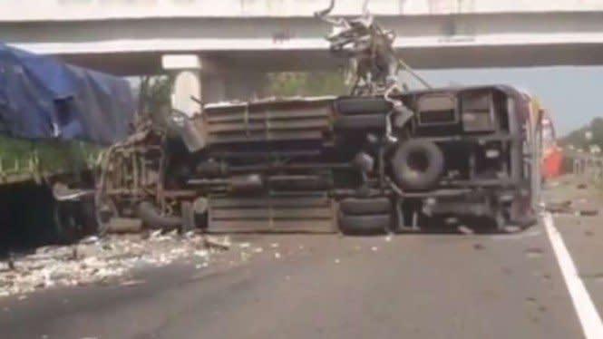 Kecelakaan Maut Terjadi Lagi di Tol Cipali, 4 Tewasdan 2 Luka Berat