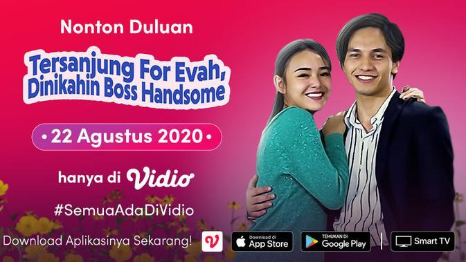 FTV SCTV Tersanjung For Evah, Dinikahin Boss Handsome. (Sumber: Vidio)