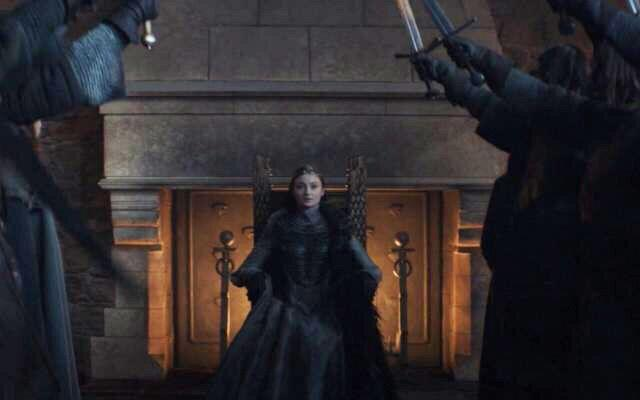 Sansa Stark was named Queen in the North in the Game of Thrones finale