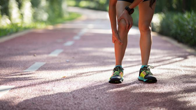 Menghindari Kram Ketik berlari (Sumber: iStockphoto)
