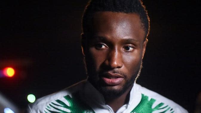 Gelandang tim nasional Nigeria, John Obi Mikel. (AFP/Pius Utomi Ekpei)
