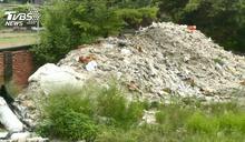 「環保蟑螂」租廠房堆垃圾後落跑 留千噸廢物
