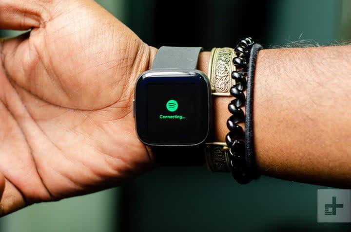 Fitbit Versa 2 spotify