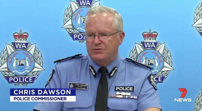The Police Commissioner described the incident as