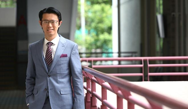 Dion Chen, principal of the YMCA of Hong Kong Christian College. Photo: Edmond So