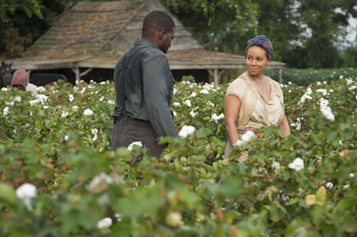 "This film image released by The Weinstein Company shows Mariah Carey as Hattie Pearl, right, in a scene from ""Lee Daniels' The Butler."" (AP Photo/The Weinstein Company, Anne Marie Fox)"