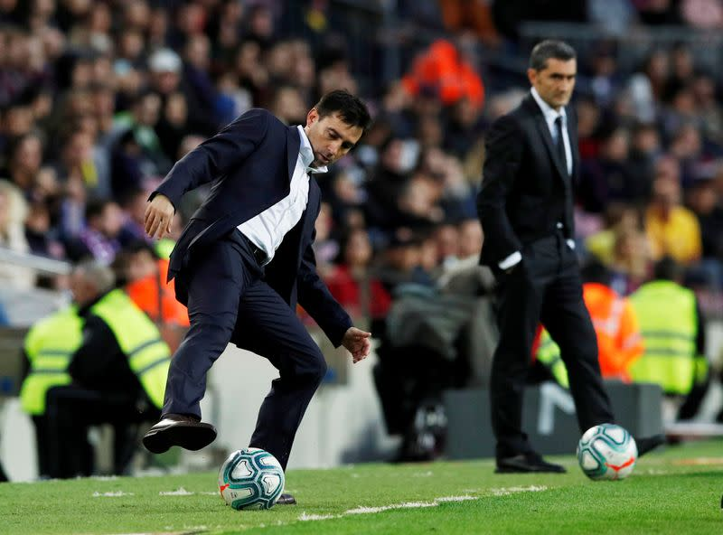 Alaves sack coach Garitano after five straight losses