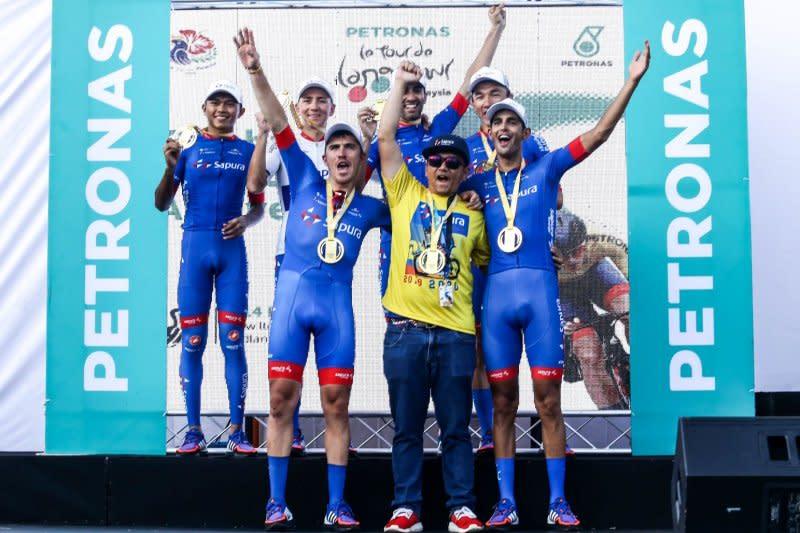 Celano menjadi juara umum TdL meski tidak pernah menangi etape