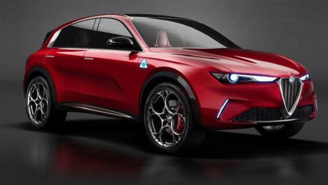 Peluncuran SUV Listrik Alfa Romeo Tinggal Selangkah Lagi