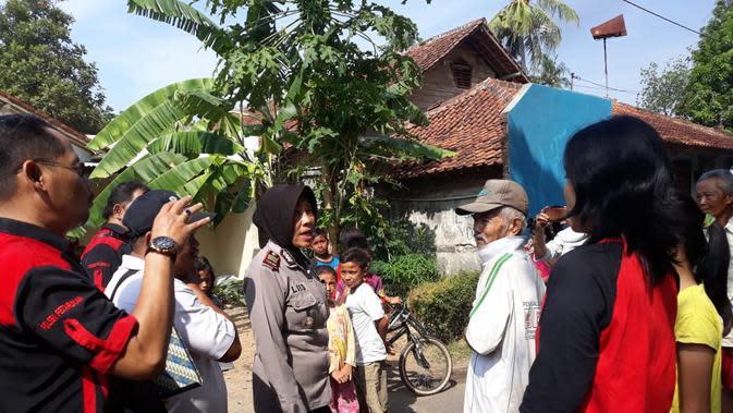 Kepolisian Pemalang mengimbau agar warga mewaspadai serangan tawon. (Foto: Liputan6.com/Polres Pemalang/Muhamad Ridlo)