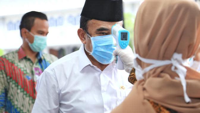 Menag Fachrul Razi Mengunjungi RS UIN Ciputat. (Humas Kemenag)