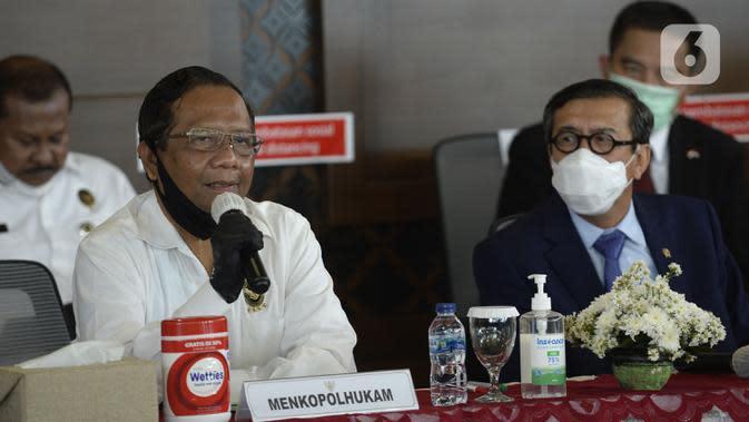 Mahfud Md Minta Semua Pihak Antisipasi Pelanggaran Protokoler Kesehatan saat Libur Cuti Bersama