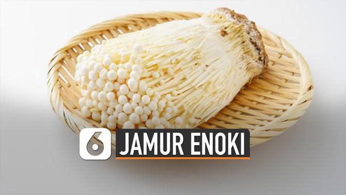 VIDEO: Menyebabkan Penyakit, Ini Fakta Jamur Enoki