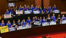 占領議場挨批暴力 林為洲稱「民進黨才是師父」:費鴻泰還在醫院手術