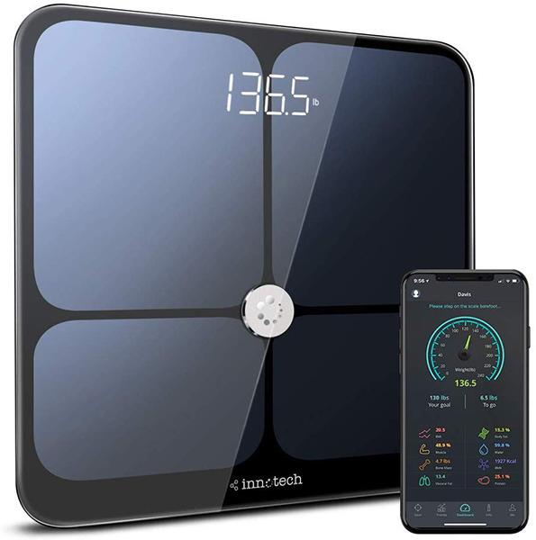 Innotech Smart Bluetooth Body Fat Scale. (Photo: Amazon)